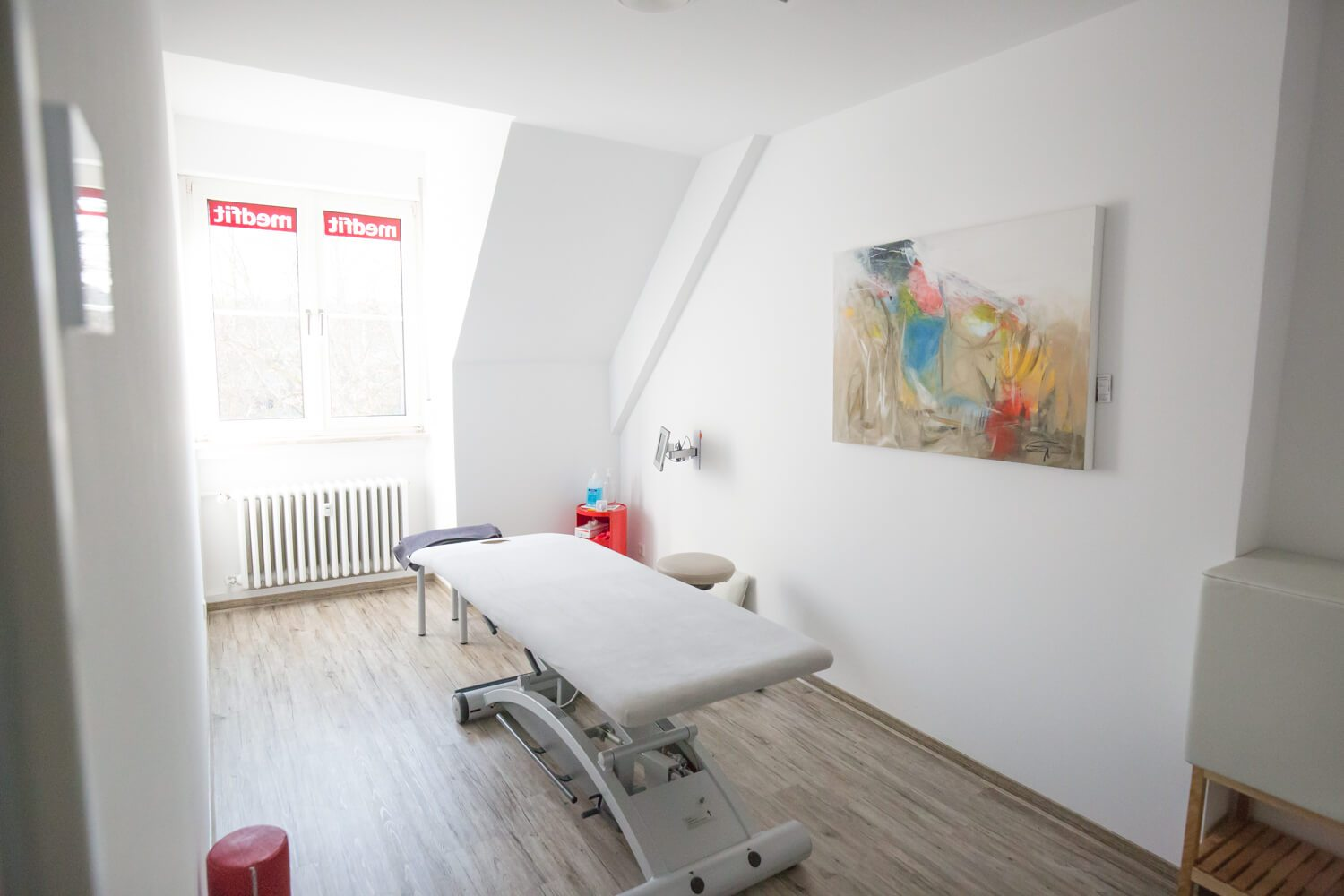 medfit Physiotherapie Bruchsal Behandlungsraum