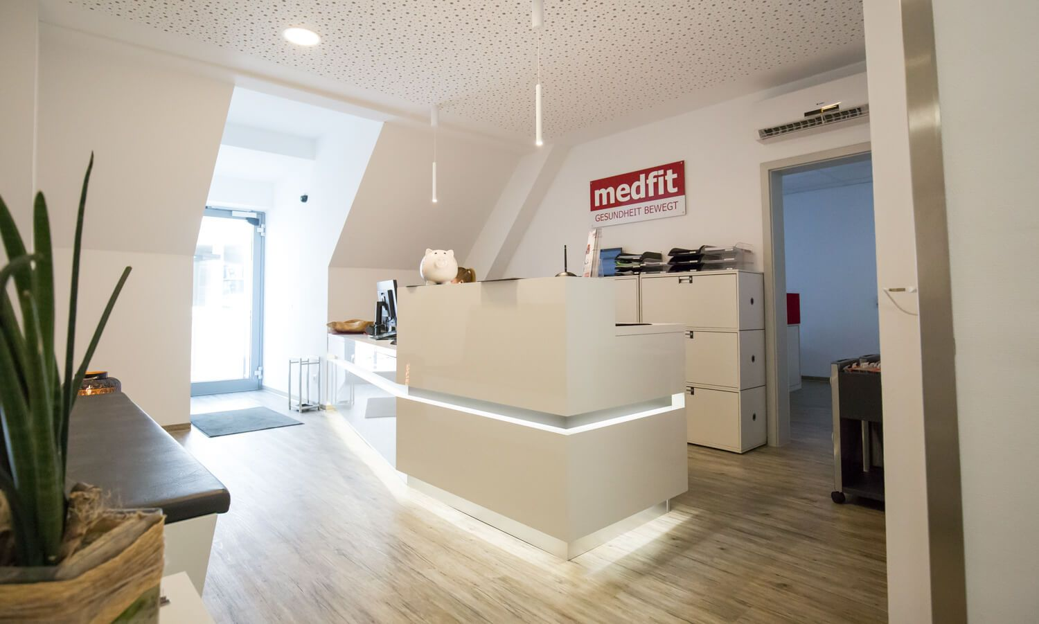medfit Physiotherapie Bruchsal Empfgang